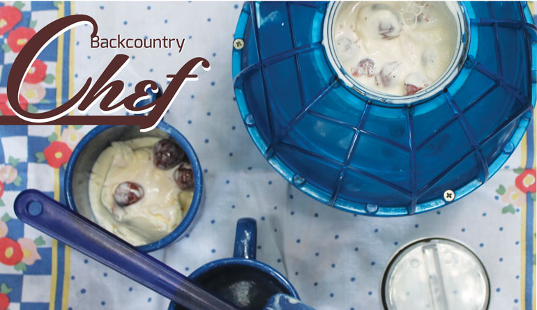 Backcountry Chef – Campground Cherry Ice Cream